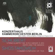 Dmitri Schostakowitsch (1906-1975): Kammersymphonie op.110a, SACD