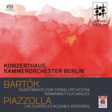 Bela Bartok (1881-1945): Divertimento für Streicher Sz.113, Super Audio CD