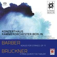 Anton Bruckner (1824-1896): Streichquintett F-Dur für Streichorchester, SACD