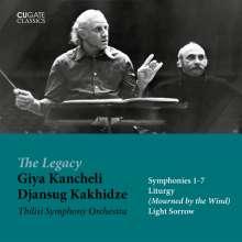 Giya Kancheli (1935-2019): Symphonien Nr.1-7, 5 CDs