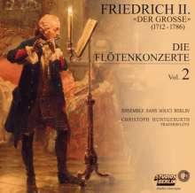 """Friedrich II.von Preussen """"Friedrich der Große"""" (1712-1786): Flötenkonzerte Nr.1-4, CD"""