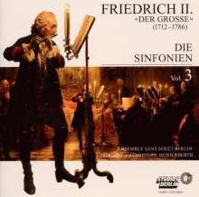 """Friedrich II.von Preussen """"Friedrich der Große"""" (1712-1786): Symphonien Nr.1-4, CD"""