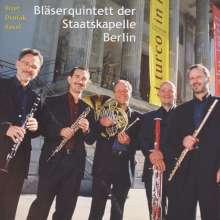 Bläserquintett der Staatskapelle Berlin, CD