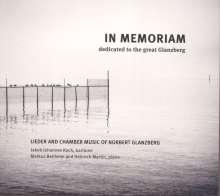 "Norbert Glanzberg (1910-2001): Lieder & Kammermusik ""In Memoriam"", CD"