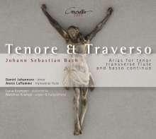 "Johann Sebastian Bach (1685-1750): Tenor-Arien mit Flöte & Bc ""Tenore & Traverso"", CD"