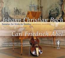 Johann Christian Bach (1735-1782): Sonaten für Viola da gamba, CD
