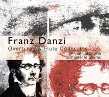 Franz Danzi (1763-1826): Flötenkonzerte Nr.1 & 2 (op.30 & 31), CD