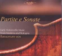 Bassorum vox - Partite e Sonate (Frühe Cellomusik aus Modena und Bologna), CD