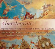 Alme Ingrate - Kaiserliche Arien von Kaiser Joseph I, Ziani, Fux & Caldara, CD