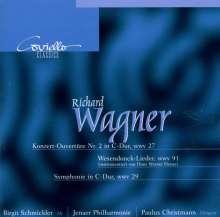 Richard Wagner (1813-1883): Wesendonck-Lieder (orchestriert von Henze), CD