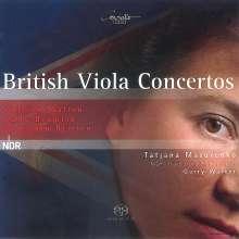Tatjana Masurenko - British Viola Concertos, Super Audio CD