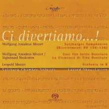 Wolfgang Amadeus Mozart (1756-1791): Divertimenti KV 136-138, SACD