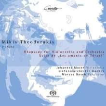 Mikis Theodorakis (geb. 1925): Rhapsodie für Cello & Orchester, SACD
