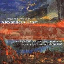 Georg Friedrich Händel (1685-1759): Alexander's Feast, 2 SACDs