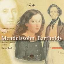 Felix Mendelssohn Bartholdy (1809-1847): Symphonien Nr.1 & 5, SACD