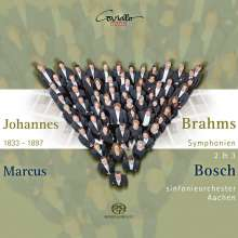 Johannes Brahms (1833-1897): Symphonien Nr.2 & 3, Super Audio CD