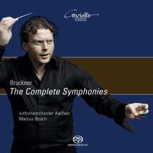 Anton Bruckner (1824-1896): Symphonien Nr.0-9, 10 SACDs