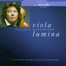 Tatjana Masurenko - Viola Lumina, CD