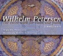 Wilhelm Petersen (1890-1957): Sämtliche Werke für Violine & Klavier, 2 CDs
