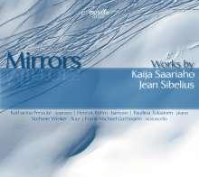 Kaija Saariaho (geb. 1952): Mirrors für Flöte & Cello (Versionen I & II), CD