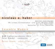 Nicolaus Anton Huber (geb. 1939): Weisse Radierung, CD