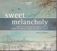 Cellini Consort - Sweet Melancholy (Werke für Gamben-Consort), CD
