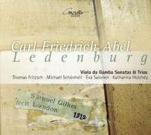 Carl Friedrich Abel (1723-1787): Sonaten & Trios für Viola da gamba (aus der Ledenburg-Sammlung), CD