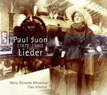 Paul Juon (1872-1940): Lieder, CD