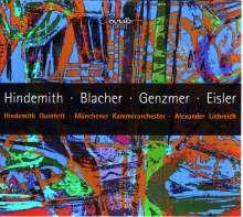 Harald Genzmer (1909-2007): Bläserquintett, CD