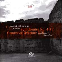 Robert Schumann (1810-1856): Symphonien Nr.2 & 4, SACD