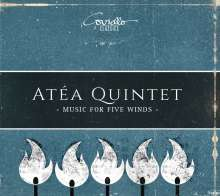 Atea Quintet - Music For Five Winds, CD