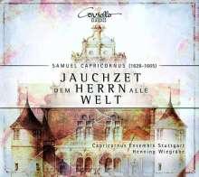 """Samuel Capricornus (1628-1665): Geistliche Konzerte """"Jauchzet dem Herrn alle Welt"""", CD"""