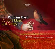 William Byrd (1543-1623): Consort Music & Songs, CD