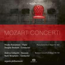 Wolfgang Amadeus Mozart (1756-1791): Klavierkonzert Nr.21 C-dur KV 467, SACD