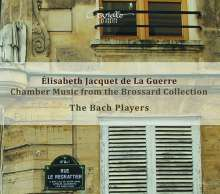 Elisabeth-Claude Jacquet de la Guerre (1665-1729): Kammermusik aus der Brossard Collection, CD