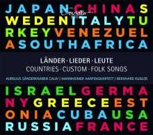 Aurelius Sängerknaben Calw - Eine musikalische Weltreise mit internationalen Volksliedern, CD