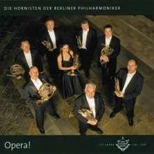 Die Hornisten der Berliner Philharmoniker - Opera!, CD