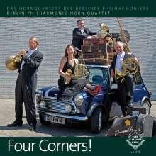 Das Hornquartett der Berliner Philharmoniker - Four Corners!, CD