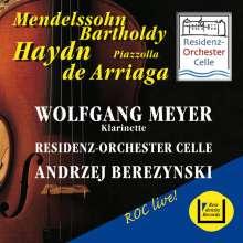 Joseph Haydn (1732-1809): Klarinettenkonzert A-Dur H18 Nr.11, CD