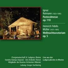 Heinrich Fidelis Müller (1837-1905): Weihnachtsoratorium op.5, CD
