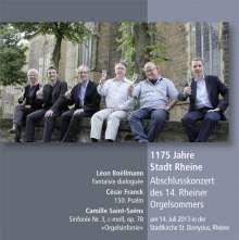 1175 Jahre Stadt Rheine - Abschlusskonzert des 14. Rheiner Orgelsommers, CD