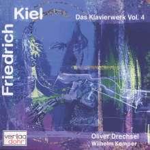 Friedrich Kiel (1821-1885): Das Gesamtwerk für Klavier Vol.4, CD