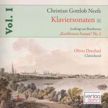 Christian Gottlob Neefe (1748-1798): Klaviersonaten Vol.1, CD