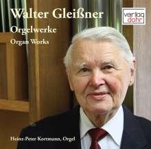 Walter Gleißner (geb. 1931): Orgelwerke, CD