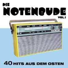Die Notenbude Vol. 1 - 40 Hits aus dem Osten, 2 CDs