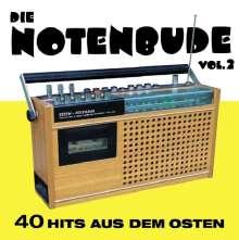 Die Notenbude Vol. 2 - 40 Hits aus dem Osten, 2 CDs