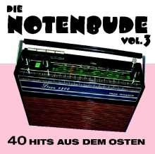 Die Notenbude Vol. 3 - 40 Hits aus dem Osten, 2 CDs