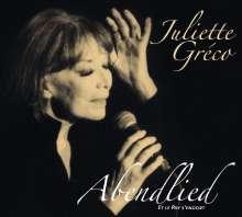 Juliette Gréco: Abendlied, CD