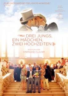 Drei Jungs, ein Mädchen, zwei Hochzeiten (OmU), DVD