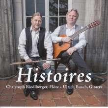 Christoph Riedlberger - Histoires, CD